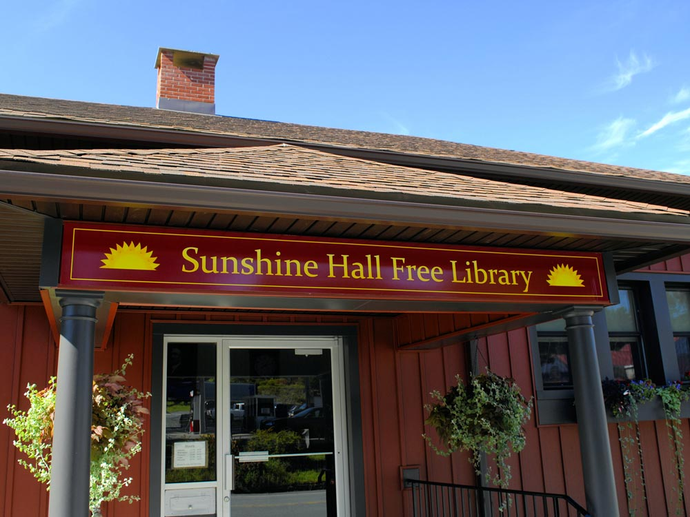 Sunshine Hall Free Library