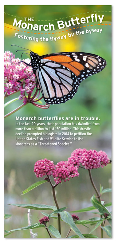 The Monarch Butterfly brochure cover